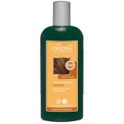 Logona, БІО-Шампунь для пофарбованих темно-коричневих волосся Горіх, 250 мл