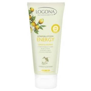 Logona, БІО-Лосьон для тіла ENERGY Лимон і Імбир, 200мл