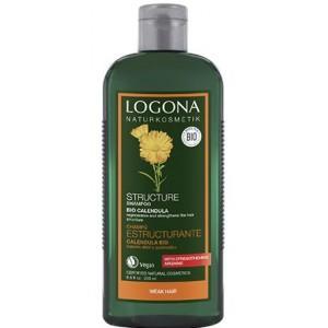 Logona, БИО-Шампунь живительный для ослабенных волос Календула, 250 мл