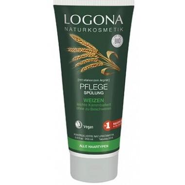 Logona, БИО-Кондиционер для волос Ежедневное питание с протеинами Пшеницы, 200 мл