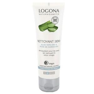 Logona, БІО-Засіб 3в1 для очищення обличчя, 100мл