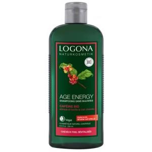 Logona, БИО-Шампунь Укрепление и Рост для волос с возрастными изменениями с Кофеином, 250 мл