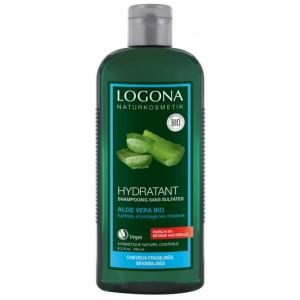Logona, БИО-Шампунь Увлажнение и Защита для сухих волос с Алоэ Вера, 250мл