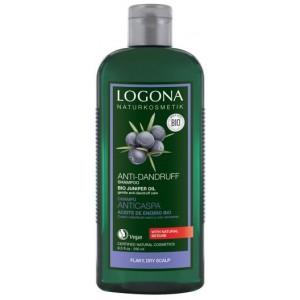 Logona, БИО-Шампунь для сухой кожи головы против перхоти Можжевельник, 250 мл