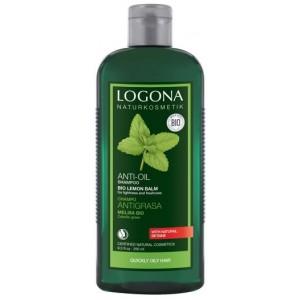 Logona, БИО-Шампунь Баланс для жирных волос Мелисса, 250 мл