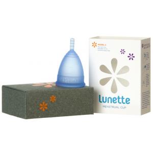 Lunette, Менструальная чаша Лунетт Селена (Голубая)
