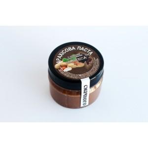 MANTECA, Натуральная арахисовая паста с черным шоколадом, 100г