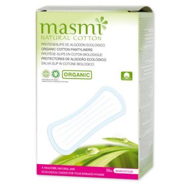 MASMI, Органические прокладки  гигиенические ежедневные, 30 шт.