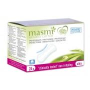 MASMI, Органические прокладки  гигиенические ежедневные в индивидуальной упаковке, 24 шт.
