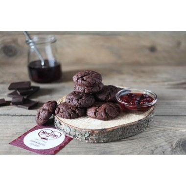 MerciPan, Печиво натуральне шоколадне ПІСНЕ, 190г