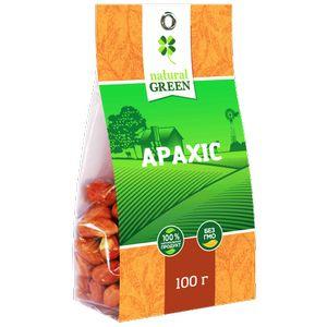NATURAL GREEN, Арахіс, 100 г
