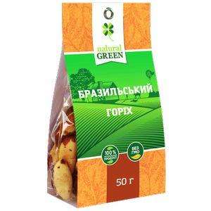 NATURAL GREEN, Бразильський горіх, 50 г