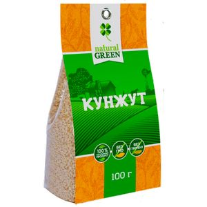 NATURAL GREEN, Кунжут, 100 г