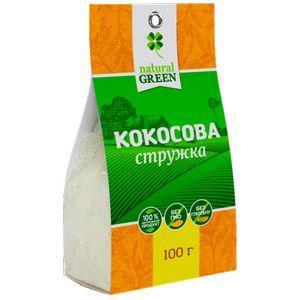 NATURAL GREEN, Кокосова стружка, 100 г