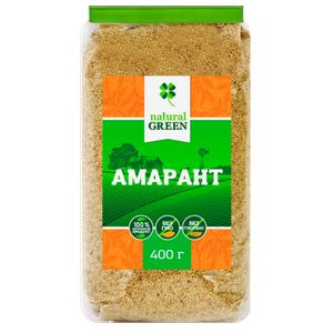 NATURAL GREEN, Амарант, 400 г