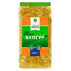 NATURAL GREEN, Булгур, 400 г