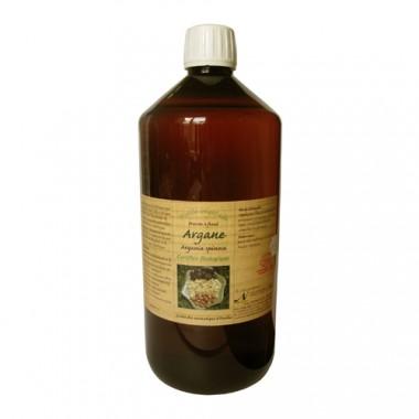 Nectarome Арганова олія (олія арганії) холодного пресування (косметичний і дієтологічне застосування) органічне / Huile vegetale Argane pressee a froid Certifiee Biologique, 1 л