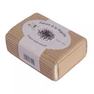 Nectarome Мило на основі масла нигелла (калінджі, чорного кмину) для особи і тіла / Savon a la Nigelle, 120 гр