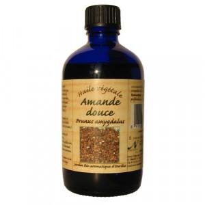 Nectarome Масло солодкого мигдалю косметичне (холодного пресування) / Huile vegetale Amande douce (Prunus amygdalus), 100 мл