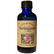 Nectarome Масло для особи ревіталізірующее Арганова масло (масло арганії) + ефірні масла троянди дамаської і герані / Huile de massage revitalisante a la Rose et a l'huile d'Argane, 50 мл