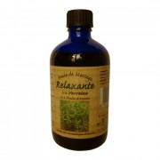 Nectarome, Масло масажне релаксуючу арганія + вербена / Huile de massage Relaxante a la Verveine et a l'huile d'Argane, 100 мл