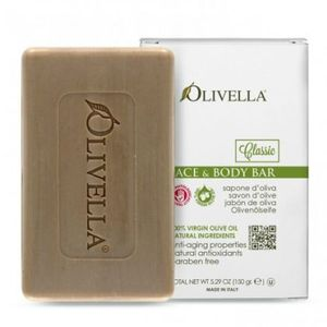 OLIVELLA, Мило для обличчя і тіла на основі оливкового масла, 150г