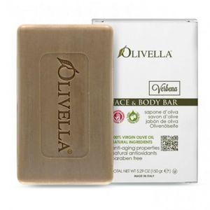 OLIVELLA, Мило для обличчя і тіла Вербена на основі оливкового масла, 150г