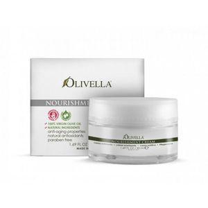 OLIVELLA, Крем для обличчя живильний на основі оливкового масла, 50мл