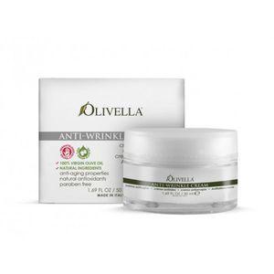 OLIVELLA, Крем для обличчя проти зморшок на основі оливкового масла, 50мл