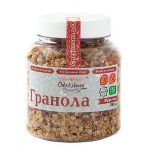 Oats&Honey, Гранола фруктовая, 250г (банка)