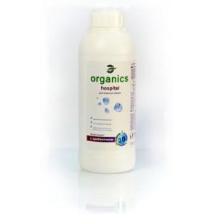 Organics Hospital, Пробіотичний концентрат для вологого прибирання і біологічної дезінфекції, Концентрат, обсяг 1 л