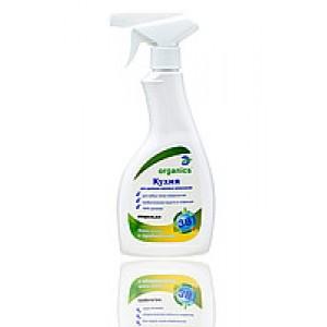 Organics Кухня, пробіотичні засіб для чищення, знежирення будь-яких типів поверхонь на кухні з розпилювачем, обсяг 500 мл