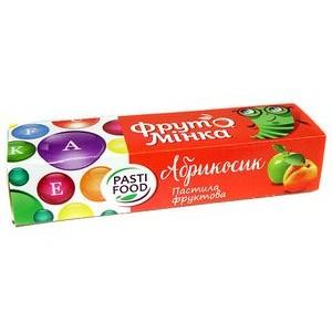 PASTIFOOD, Детская фруктовая пастила ФРУТОМИНКА без сахара АБРИКОСИК, 25г