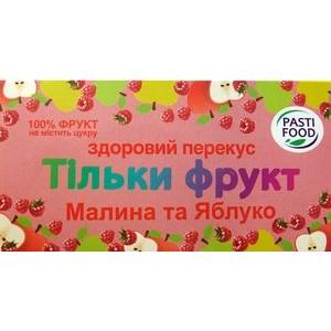 PASTIFOOD, Пастила без сахара ЯБЛОКО МАЛИНА, 50г