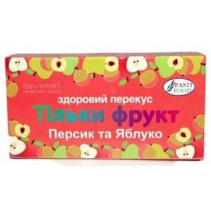 PASTIFOOD, Пастила без сахара ПЕРСИК ЯБЛОКО, 50г
