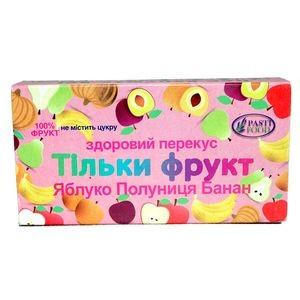 PASTIFOOD, Пастила без сахара ЯБЛОКО КЛУБНИКА БАНАН, 50г