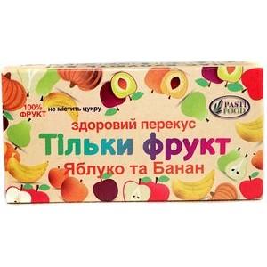PASTIFOOD, Пастила без сахара ЯБЛОКО БАНАН, 50г