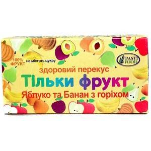 PASTIFOOD, Пастила без сахара ЯБЛОКО БАНАН ОРЕХ, 50г