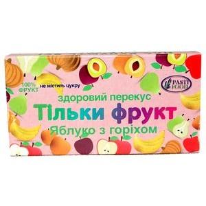 PASTIFOOD, Пастила без сахара ЯБЛОКО ОРЕХ, 50г