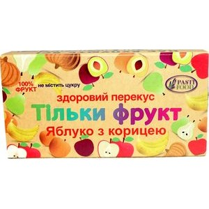 PASTIFOOD, Пастила без сахара ЯБЛОКО КОРИЦА, 50г
