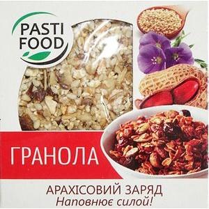 PASTIFOOD, Гранола-таблетка №1 АРАХИСОВЫЙ ЗАРЯД, 40г