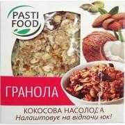 PASTIFOOD, Гранола-таблетка №6 КОКОСОВОЕ НАСЛАЖДЕНИЕ, 40г