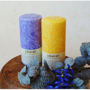 PLAMIS, Свеча из натурального пальмового воска, (высота 120мм, вес 260г, время горения 35ч)