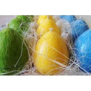 PLAMIS, Свеча-яйцо из натурального пальмового воска