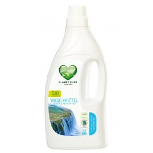 PLANET PURE, Органическое жидкое средство для стирки гипоаллергенное для чувствительной кожи, 1.55л (38 циклов стирки)