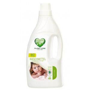 PLANET PURE, Органическое жидкое средство для стирки детского белья, 1.55л (38 циклов стирки)
