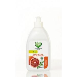 PLANET PURE, Органическое средство для мытья посуды Красный апельсин Розмарин, 510мл