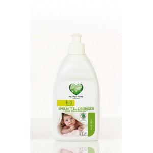 PLANET PURE, Органическое средство для мытья детской посуды, 510мл