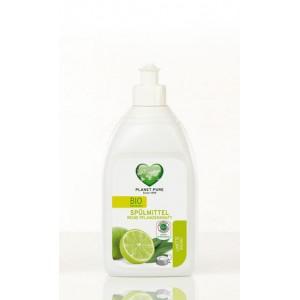 PLANET PURE, Органическое средство для мытья посуды Лимон Шалфей, 510мл
