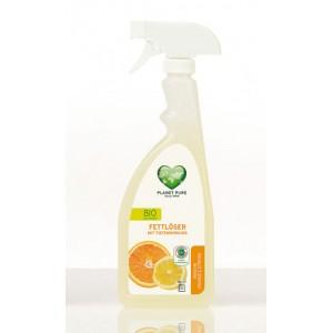 PLANET PURE, Органическое средство для удаления жира Апельсин и Лимон, 510мл